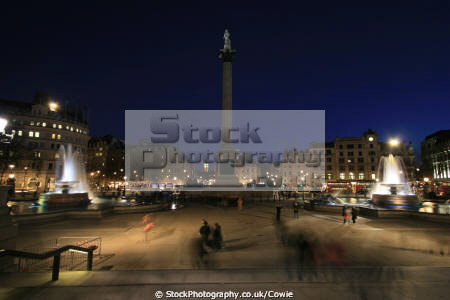 trafalgar square famous sights london capital england english toursit attraction fountains nelsons column city cockney angleterre inghilterra inglaterra united kingdom british