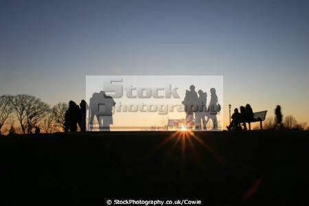 sunset hill groups primrose winter friends london cockney england english angleterre inghilterra inglaterra united kingdom british