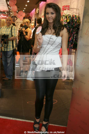 coronation street actress brooke vincent opening lispy store manchester actresses female thespian celebrities celebrity fame famous star arndale centre glamour red carpet event sophie webster corrie england english angleterre inghilterra inglaterra united kingdom british