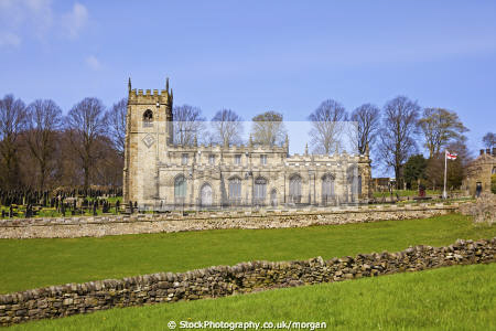 church st nicholas bradfield south yorkshire uk churches worship religion christian british architecture architectural buildings 15th century building peak district village sheffield england english angleterre inghilterra inglaterra united kingdom