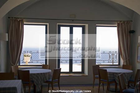 inside hotel restaurant el far near lighthouse san sebastián catalunya catalonia spanish espana european església espagne españa faro hermitage monastery costa brava spain spanien la spagna