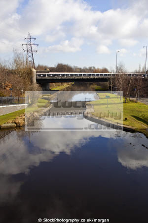 section south yorkshire navigation canal sheffield marine waterway attercliffe uk england english angleterre inghilterra inglaterra united kingdom british