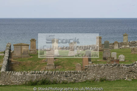 burial ground located near bellochantuy argyll altantic ocean background uk churches worship religion christian british architecture architectural buildings graveyard graves bute argyllshire scotland scottish scotch scots escocia schottland united kingdom