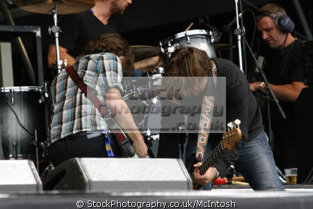 australian rock band powderfinger stage bands roll pop stars celebrities celebrity fame famous star festivals perth kinross perthshire scotland scottish scotch scots escocia schottland united kingdom british