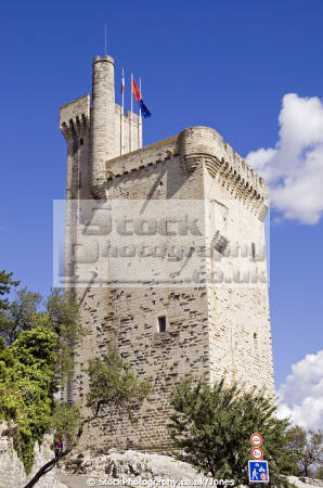 tower philippe le bel villeneuve-lès-avignon villeneuve lès avignon villeneuvelèsavignon france french buildings european mediaeval medieval gard chateau fortifications crenellated castle languedoc-roussillon languedoc roussillon languedocroussillon la francia frankreich