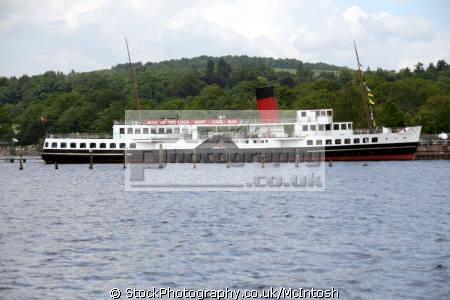 loch lomond maid paddle steamer balloch boats marine cafe bar scotland glasgow central scottish scotch scots escocia schottland united kingdom british