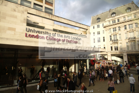 university arts london college fashion oxford street w1 famous streets capital england english united kingdom british