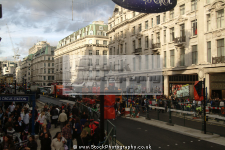 oxford circus niketown london w1 street famous streets capital england english united kingdom british