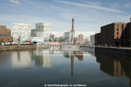 albert dock liverpool reflection north west northwest england english dockside tourist attractions scouse merseyside angleterre inghilterra inglaterra united kingdom british