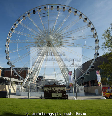 big wheel albert dock liverpool north west northwest england english fairground ride merseyside scouse angleterre inghilterra inglaterra united kingdom british