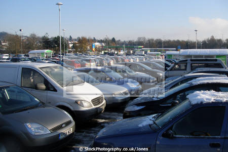 car park asda derby run-up run up runup christmas. retailers brands branding uk business commerce supermarket shopping shop retail provisions grocery groceries food gifts presents xmas derbyshire england english angleterre inghilterra inglaterra united kingdom british