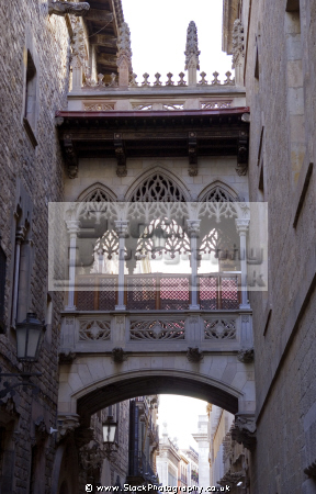 barcelona pont del bisbe puente obispo catalunya catalonia spanish espana european espagne espa mediaeval medieval bridge spain spanien la spagna