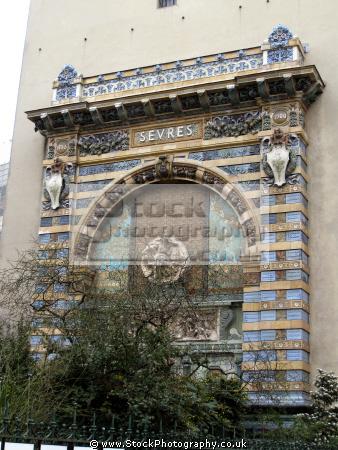 paris vres arch square lix desruelles french buildings european france parisienne left bank latin quarter odeon la francia frankreich
