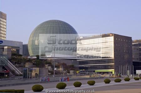 la defense paris place dome french buildings european france parisienne commercial concourse business district francia frankreich