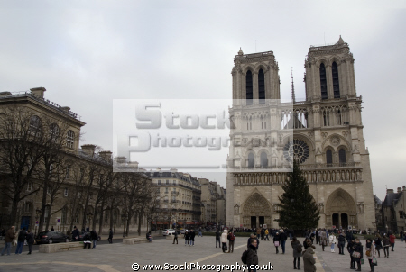 paris notre dame french buildings european river seine france lady catholic religious religion cathedral eglise parisienne la francia frankreich