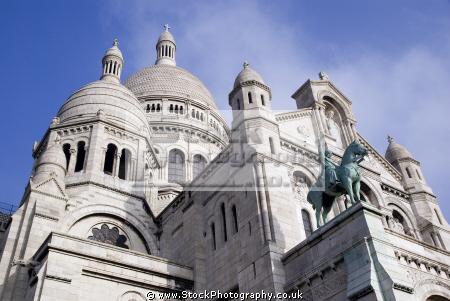 montmartre paris basilique du sacr coeur french buildings european parisienne france basilica catholic religious eglise church religion sacre la francia frankreich