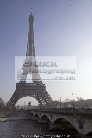 paris pont lena eiffel tower french buildings european france parisienne trocadero engineering iron iconic gustave la francia frankreich