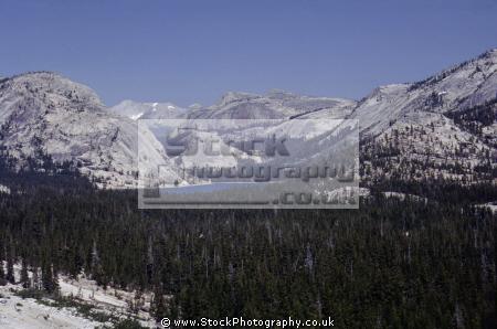 yosemite np tenaya lake near tioga pass high sierras wilderness california east lee vining mountains alpine nationa national park californian united states american