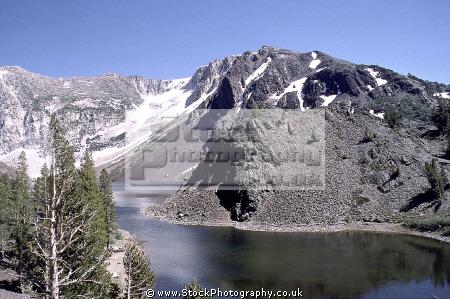 ellery lake near tioga pass high sierras wilderness california yosemite east lee vining mountains alpine nationa national park californian