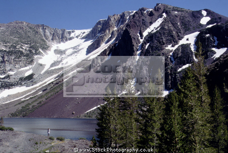 ellery lake near tioga pass high sierras wilderness california yosemite east lee vining mountains alpine nationa national park californian