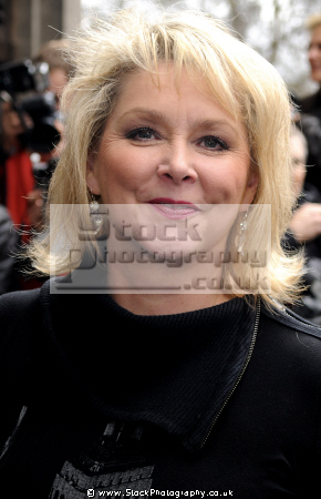 cheryl baker english television presenter singer. famous for1980s pop group bucks fizz eurovision song contest british 80 bands eighties musicians celebrities celebrity fame star white caucasian portraits