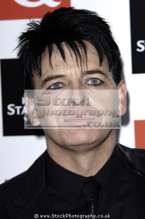 gary numan english singer composer musician widely known 1979 hits friends electric tubeway army british 80 bands eighties musicians celebrities celebrity fame famous star white caucasian portraits