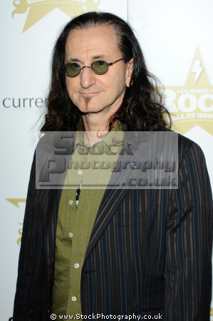 geddy lee canadian musician best known lead vocalist bassist keyboardist rock group rush musicians celebrities celebrity fame famous star white caucasian portraits