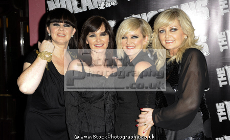 nolans irish all-female all female allfemale band consisting group sisters known song mood dancing british girl bands groups female singers divas pop stars musicians celebrities celebrity fame famous star white caucasian portraits