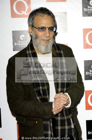 yousef islam cat stevens english musician british singer songwriters composer musicians celebrities celebrity fame famous star muslim arab black ethnic portraits