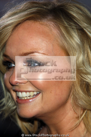 emma bunton aka baby spice girls empowerment fiesty british girl bands groups female singers divas pop stars musicians celebrities celebrity fame famous star white caucasian portraits