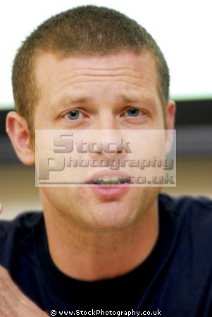 dermot leary british television radio presenter big brother little x-factor x factor xfactor judges musicians celebrities celebrity fame famous star white caucasian portraits