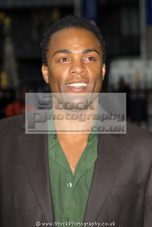 ray fearon british actor nathan harding coronation street actors weatherfield manchester soap stars tv celebrities celebrity fame famous star white caucasian portraits