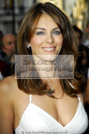 elizabeth liz hurley english model actress girlfriend hugh grant austin powers bedazzled movie actresses film england female thespian acting celebrities celebrity fame famous star est lauder females white caucasian portraits