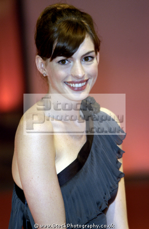 anne hathaway american actress nominated academy award best actresses ...: stockphotography.co.uk/Store/Zoom.aspx?Prodid=35368