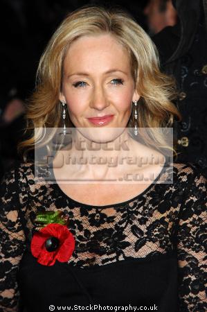 rowling millionaire author harry potter books british authors writers writer celebrities celebrity fame famous star white caucasian portraits