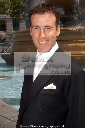 anton du beke english ballroom dancer appears tv strictly come dancing. dancing british reality personalities television presenters celebrities celebrity fame famous star white caucasian portraits