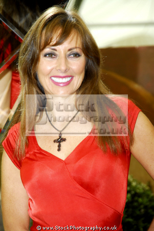 carol vorderman tv personality famous role mathmatician countdown british daytime hosts television presenters celebrities celebrity fame star white caucasian portraits
