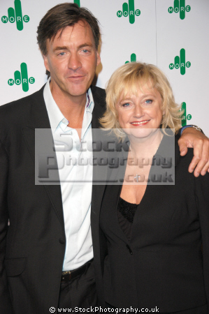 richard madeley judy finnigan british chat hosts talk television presenters celebrities celebrity fame famous star white caucasian portraits