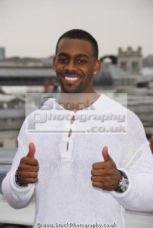 richard blackwood british comedian tv presenter actor comedians performers celebrities celebrity fame famous star negroes black ethnic portraits