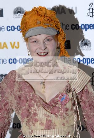 Dame Vivienne Westwood Dbe Rdi British Fashion Designer And Businesswoman