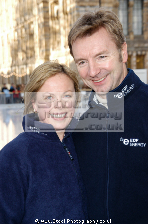 jayne torvill christopher dean british ice dancers european olympic world champions torville dance sport sporting celebrities celebrity fame famous star white caucasian portraits