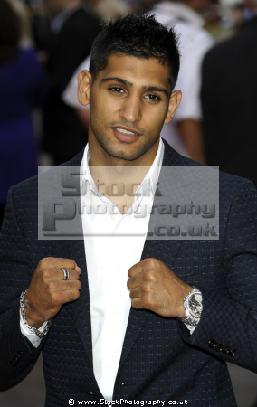 amir khan british boxer wba world super lightweight champion boxers pugilists pugilism sport sporting celebrities celebrity fame famous star muslim islam arab black ethnic portraits