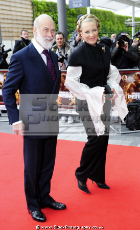 hrh prince michael kent princess royalty aristocracy celebrities celebrity fame famous star females white caucasian portraits