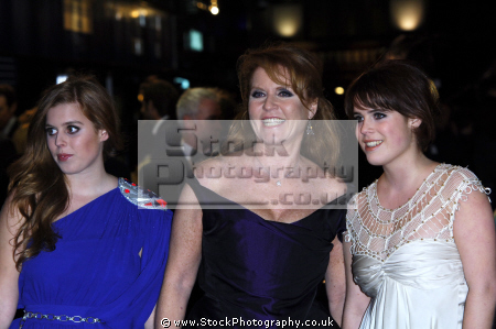 duchess york sarah ferguson daughters beatrice eugenie royalty aristocracy celebrities celebrity fame famous star females white caucasian portraits