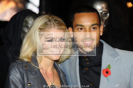 theo walcott english footballer plays arsenal england national melanie slade celebrity spouses wags wives girlfriends famous people fame celebrities star negroes black ethnic portraits