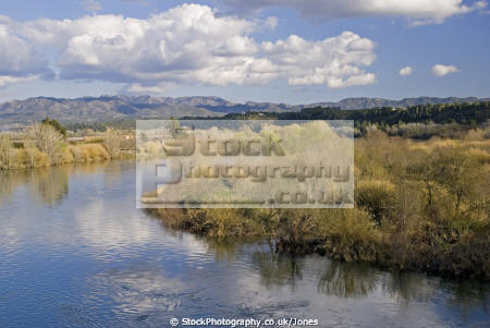 tarragona region spain river ebre near village miravet wilderness natural history nature catalonia catalunya espagne espa spanish mediaeval fortified reflections costa brava spanien la spagna