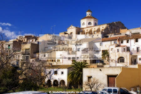 tarragona region spain hilltop village mont roig del camp costa dorada mediterranean catalunya catalonia spanish espana european espagne espa miami platja brava spanien la spagna