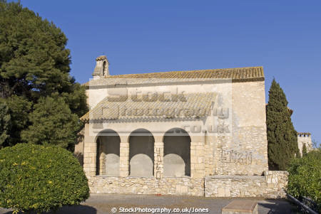 spain tarragona region monastery ermita bar near pretty village roc sant gaiet costa dorada mediterranean catalunya catalonia spanish espana european iglesia esgl sia church espagne espa religious catholic bay holiday vacation daurada durada brava spanien la spagna