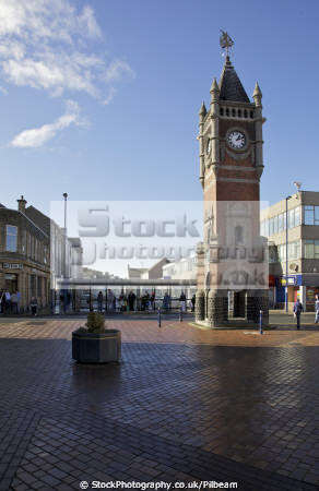 redcar clock tower town centre british architecture architectural buildings teesside time public yorkshire england english angleterre inghilterra inglaterra united kingdom