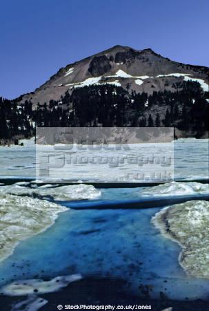 lassen peak helen lake volcanic national park california american yankee geology vulcanism pumice ash seismology faultline np usa volcano californian united states